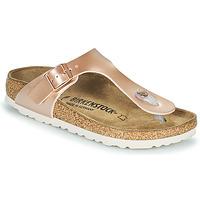 Schuhe Mädchen Zehensandalen Birkenstock GIZEH Rose / Gold