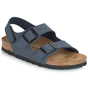 Schuhe Jungen Sandalen / Sandaletten Birkenstock MILANO HL Marine