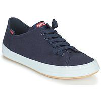 Schuhe Damen Sneaker Low Camper HOOPS Blau