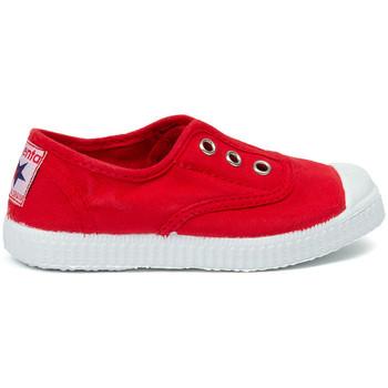 Schuhe Kinder Tennisschuhe Cienta Chaussures en toiles bébé  Tintado rouge