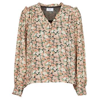 Kleidung Damen Tops / Blusen Betty London  Schwarz / Multicolor