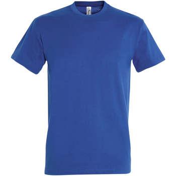 Kleidung Damen T-Shirts Sols IMPERIAL camiseta color Azul Royal Azul