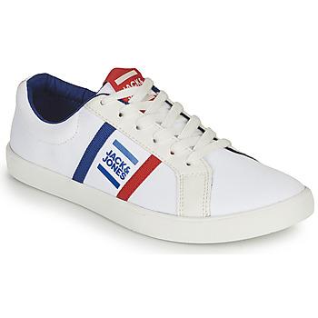 Schuhe Jungen Sneaker Low Jack & Jones WHILEY Weiss