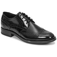 Schuhe Herren Derby-Schuhe Carlington LOUVIAN Schwarz