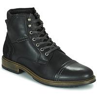 Schuhe Herren Boots Casual Attitude HOKES Schwarz