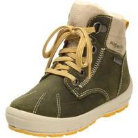 Schuhe Jungen Sneaker High Superfit Schnuerstiefel 1-006309-7000 grün