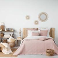 Home Decke Douceur d intérieur FLORETTE Rose