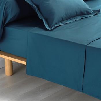 Home Bettlaken Douceur d intérieur PERCALINE Blau