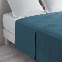 Home Bettlaken Douceur d intérieur LINA Blau