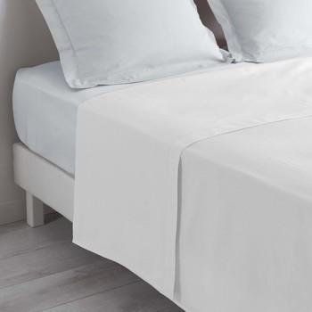 Home Bettlaken Douceur d intérieur LINA Weiß