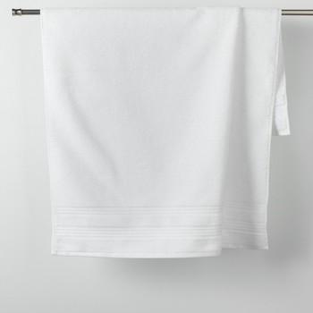 Home Handtuch und Waschlappen Douceur d intérieur EXCELLENCE Weiss