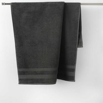 Home Handtuch und Waschlappen Douceur d intérieur EXCELLENCE Anthrazit