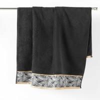 Home Handtuch und Waschlappen Douceur d intérieur ORBELLA Schwarz