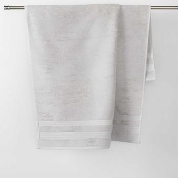 Home Handtuch und Waschlappen Douceur d intérieur EXCELLENCE Kiesel