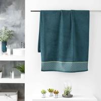 Home Handtuch und Waschlappen Douceur d intérieur BELINA Blau