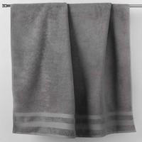 Home Handtuch und Waschlappen Douceur d intérieur EXCELLENCE Grau