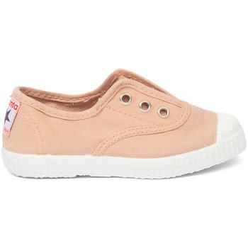 Schuhe Kinder Tennisschuhe Cienta Chaussures en toiles bébé  Tintado rose clair