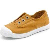 Schuhe Kinder Tennisschuhe Cienta Chaussures en toiles bébé  Tintado camel
