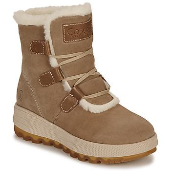 Schuhe Damen Schneestiefel Casual Attitude NAREIGNE Beige