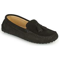 Schuhe Damen Slipper Casual Attitude GATO Schwarz