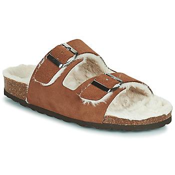 Schuhe Damen Hausschuhe Casual Attitude NEW Braun