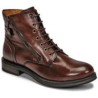 Schuhe Damen Boots Casual Attitude NUNAISE Braun