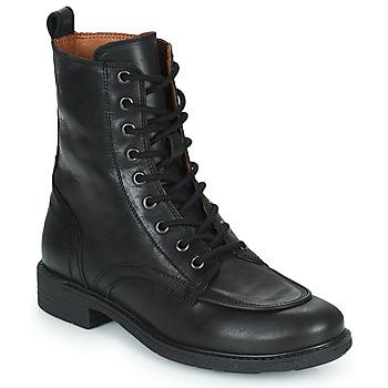 Schuhe Damen Boots Casual Attitude PASTILLA Beige
