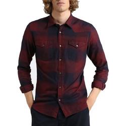 Kleidung Herren Langärmelige Hemden Woolrich W0CAM0683 rosso