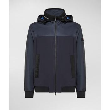Kleidung Herren Jacken Peuterey PEU3921 blu