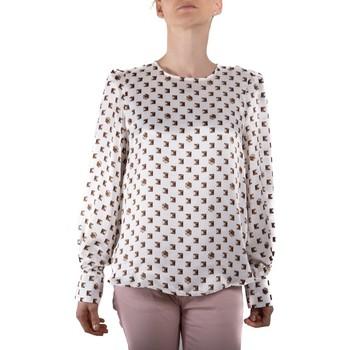 Kleidung Damen Tops / Blusen Marella 31160996 bianco