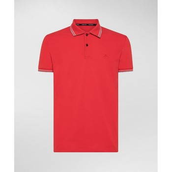 Kleidung Herren Polohemden Peuterey PEU3522 rosso