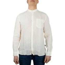 Kleidung Herren Langärmelige Hemden Woolrich WOSI0028MR bianco