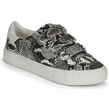 Schuhe Damen Sneaker Low No Name ARCADE STRAPS Weiss