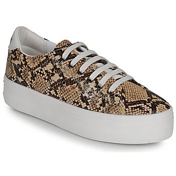 Schuhe Damen Sneaker Low No Name PLATO M Braun