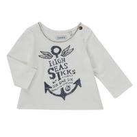 Kleidung Mädchen Langarmshirts Ikks CHOCOLAT Weiss