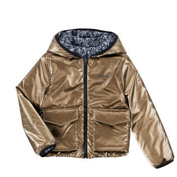 Kleidung Mädchen Jacken Ikks ORCHIDEE Marine