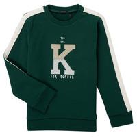 Kleidung Jungen Sweatshirts Ikks SINOPLE Kaki