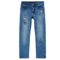 Kleidung Jungen Slim Fit Jeans Ikks VANILLE Blau
