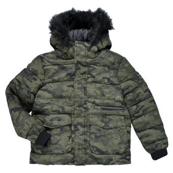 Kleidung Jungen Jacken Ikks EMERAUDE Kaki