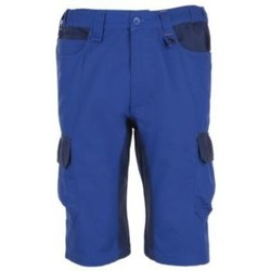 Kleidung Herren Shorts / Bermudas Sols BERMUDAS DE HOMBRE DE TRABAJO BICOLOR Azul