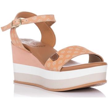 Schuhe Damen Sandalen / Sandaletten Popa CONGO MARCA Weiss