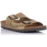 Schuhe Herren Pantoffel Interbios 9560 Grün