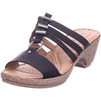 Schuhe Damen Pantoffel Hengst - B12402 schwarz