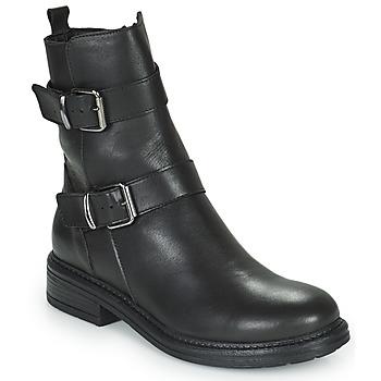 Schuhe Damen Boots Minelli PAULINA Schwarz