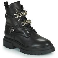 Schuhe Damen Boots Minelli GIULIA Schwarz