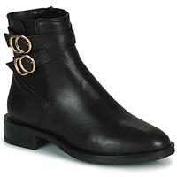 Schuhe Damen Boots Minelli LISA Schwarz