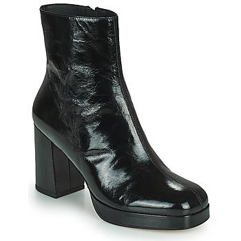 Schuhe Damen Low Boots Minelli BETTYNA Schwarz
