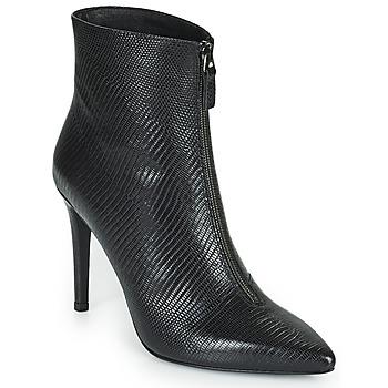 Schuhe Damen Low Boots Minelli DELILA Schwarz
