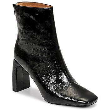 Schuhe Damen Low Boots Minelli CREMIA Schwarz