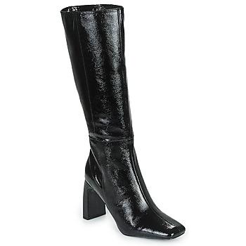 Schuhe Damen Klassische Stiefel Minelli PALOMA Schwarz